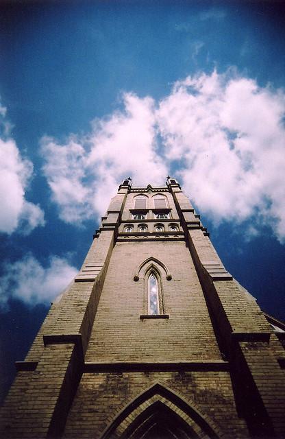 Church Tower | Vivitar Ultra Wide & Slim