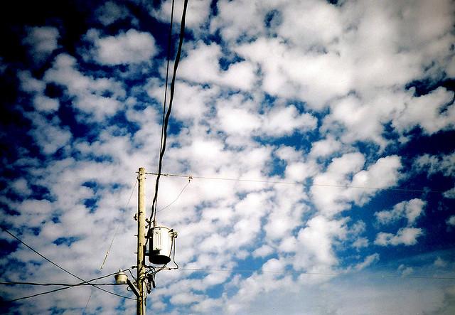 Fluffy Clouds | Olympus XA1