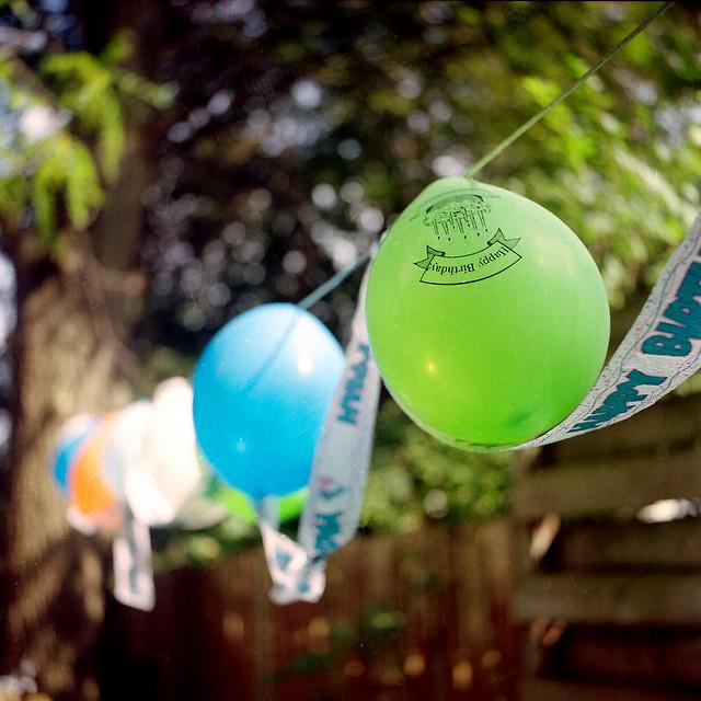 Birthday Balloons | Rolleicord