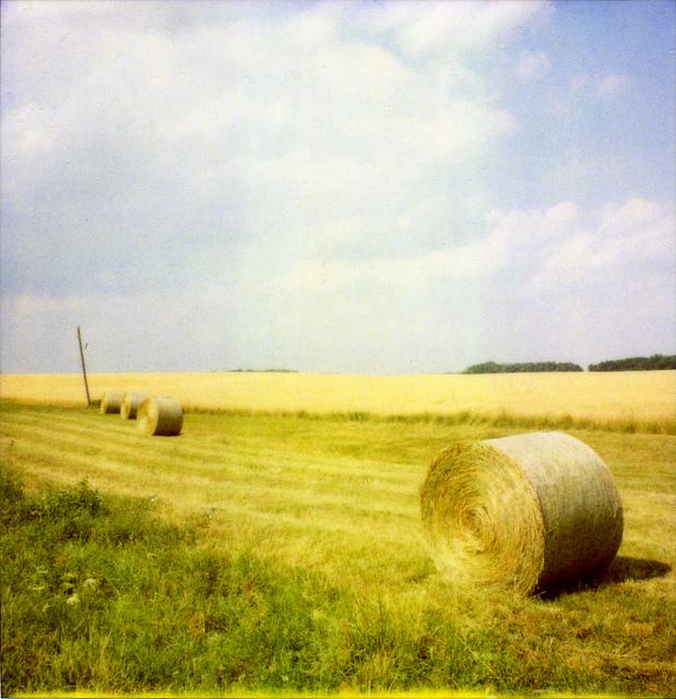 Ontario Farmland | Polaroid SX-70